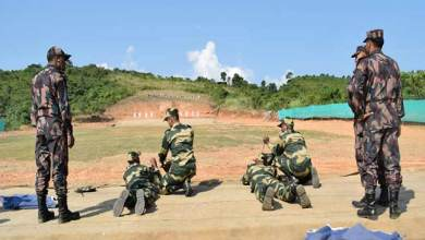 Photo of Friendly Weapon Shooting Competition Between BSF and BGB