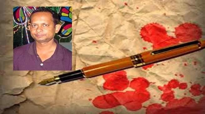 Tripura Journalist Sudeep Dutta Bhaumik shot dead by TSR Jawan