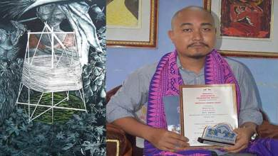 Kokrajhar Artist selected for All India Gold Medal Award for Print Making