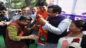Tripura- Veteran Congress leaders and MLA Ratan Lal joins BJP