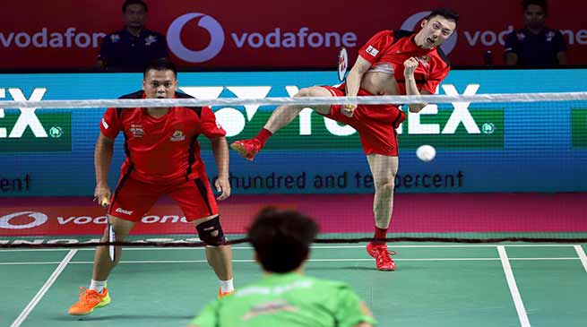 Vodafone Premier Badminton League; Hyderabad Hunters take 2-0 lead against North East Warriors