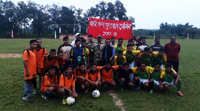Shillong- BSF organised 'Border Cup' football tournament in Meghalaya