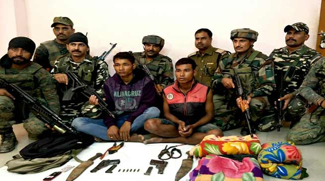 Security Forces apprehended 2 NDFB(S) Cadres