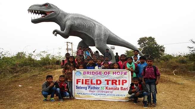 Assam: Bridge of Hope organised field trip for children