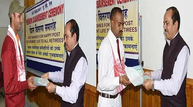 Assam: NFR Awarded two Railway Staff