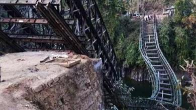 Mizoram: 1 dies as Bailey Bridge Collapses over river Tuirini