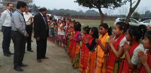 Assam: SBI donates essential materials to orphanage children, inaugurates ATM at Bodoland University