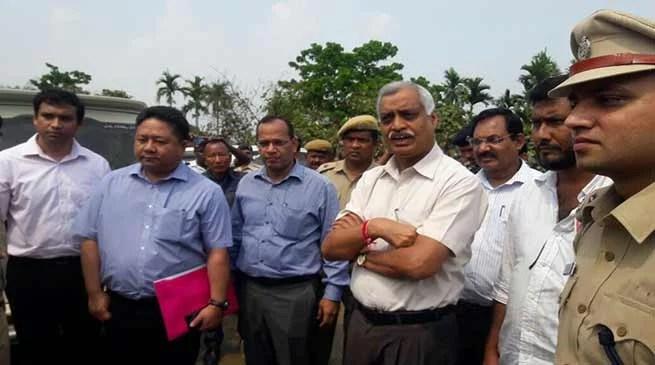 High level MHA team inspects Assam - Mizoram inter-state border