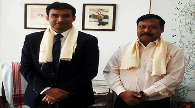 Assam: Adil Khan takes over reins as DC, Hailakandi