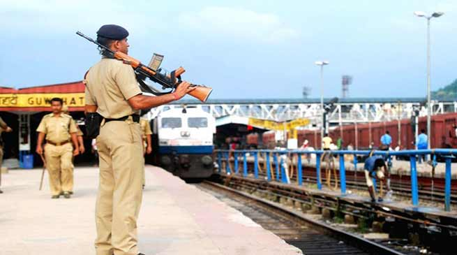 Assam: Railway Protection Force, in NF Railway achieves all round success in 2017-18