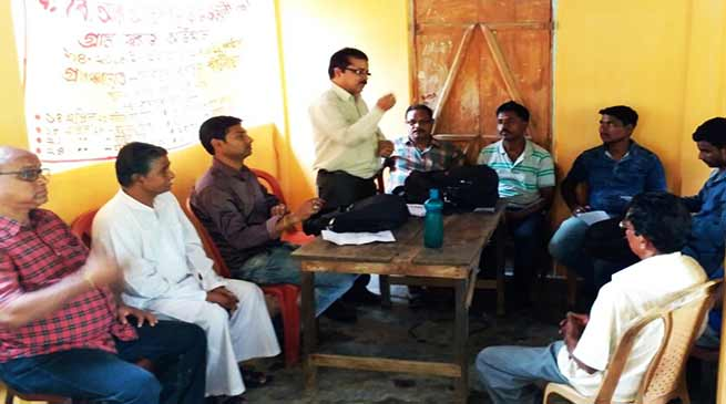 Assam: Awareness programmes on Swaraj Abhiyan in Hailakandi