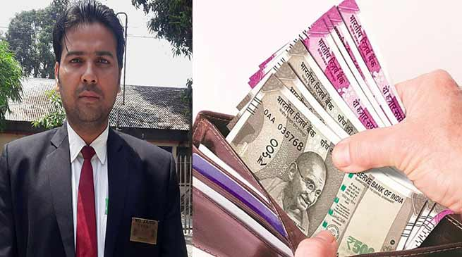Assam: Honest TTI returns lost wallet with Cash to Passenger
