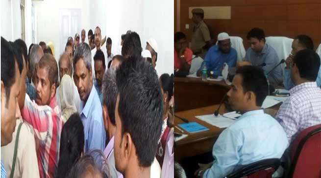 Assam: Motivated and fake complaints caught during PGR Day in Hailakandi