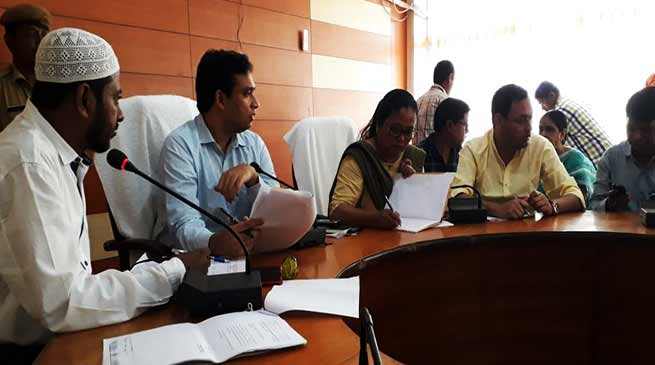 Assam: Public Grievances Redressal Day gets positive response in Hailakandi