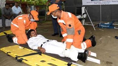 Assam: NDRF conducts drill to create awareness