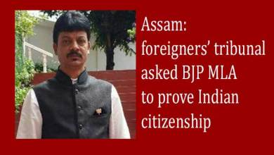 Assam: foreigners' tribunal asked BJP MLA to prove Indian citizenship