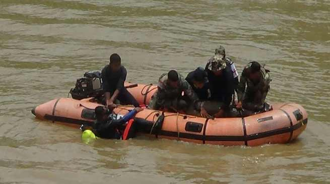 Assam: Joint Drills on flood relief by Army & Admin held at Morigaon