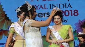 """"""" I Am Me Mrs Royal India Universe 2018"""" - Simta deb from Assam wins the title"""