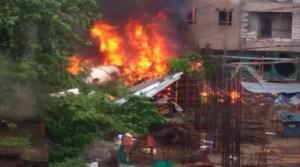 Ghatkoper- Charted plane crashes , 5 dead