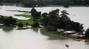 Assam: Flood situation improved considerably in Hailakandi