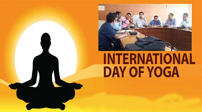 Assam: Preparations for 4th International day of Yoga in Hailakandi