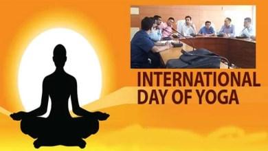 Assam:Preparations for 4th International day of Yoga in Hailakandi