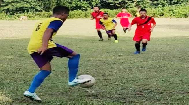 Assam: Red horn division organised friendly football match