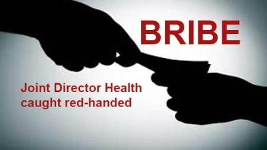 Assam: Joint Director Health caught red-handed taking bribe