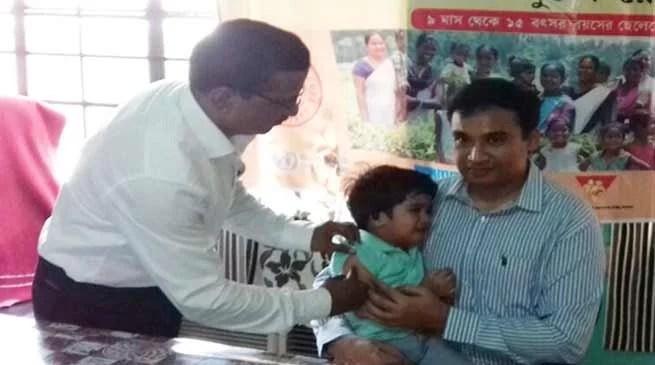 Assam: MR vaccination campaign picks up momentum in Hailakandi