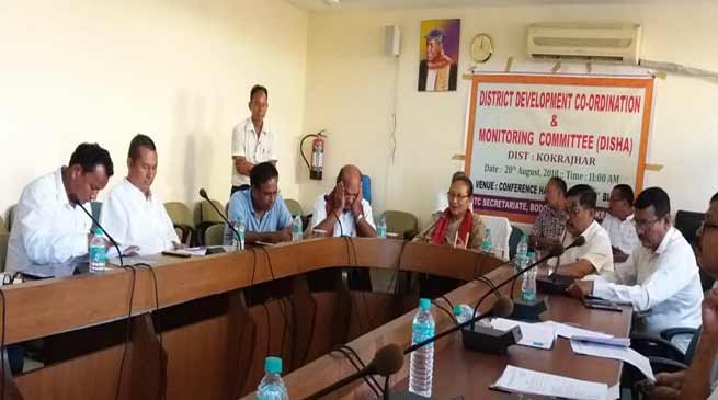 Assam: Pramila reviews DISHA held in Kokrajhar