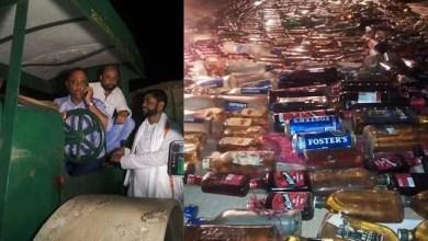 Assam:Minister Excise destroys seized IMFL bottles