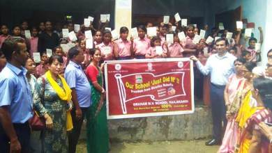 Assam: Graham MV School achieves 100% success in MR vaccination