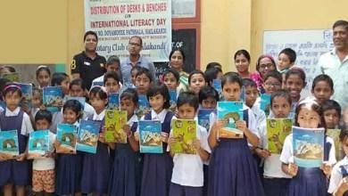 Assam: Rotary Club of Hailakandi donated desks, benches and study materials