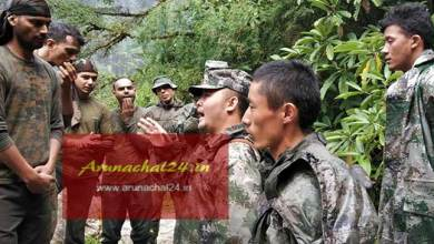 Chinese troops enters Indian side in Dibang Valley of Arunachal Pradesh