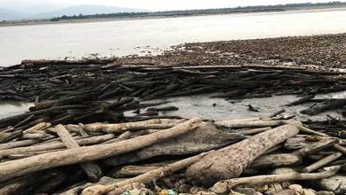 Brahamputra flow blocked after Landslide in China, Siang drying in Arunachal