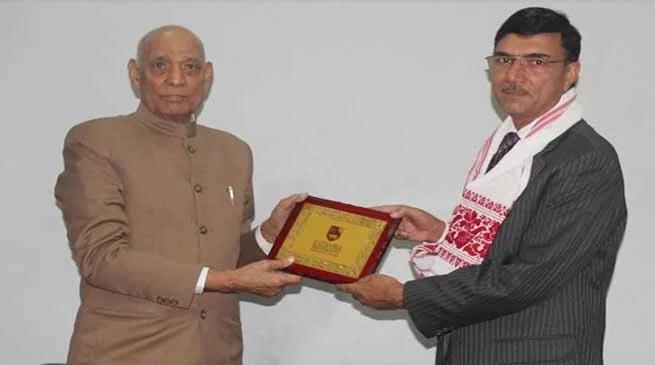 Assam:Kaziranga University Organizes Expert Talk by Rajiv Yadav, Chairman of Brahmaputra Board