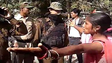 Photo of Assam- Clash between tea labourers and police, 18 injured including 8 cops