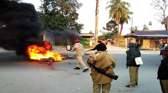 Assam Bandh: Tribals Protest Govt's Move to Grant ST Status to 6 Ethnic Groups