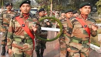 Assam:Gajraj Corps celebrates 71thArmy Day