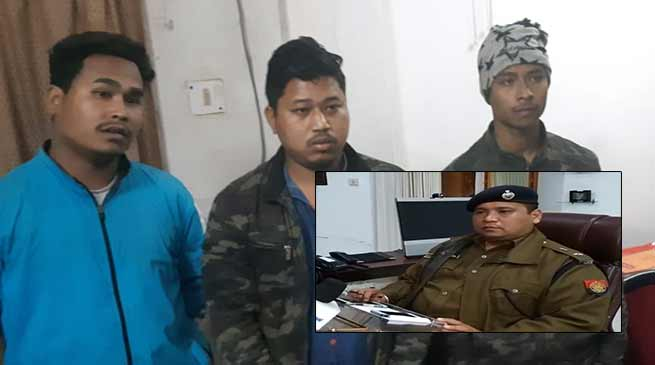Tinsukia Police has arrested 3 persons allegedly involved in the manhandle of Tinsukia district president of BJP, Lakheswar Moran .