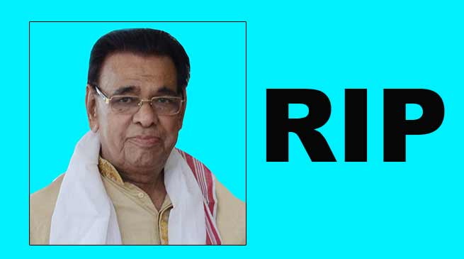 Assam: GL Agarwala passes away