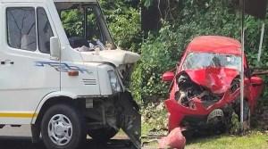 Assam: Traveller rammed into car in Jakhalabandha, Husband, Wife Spot Death
