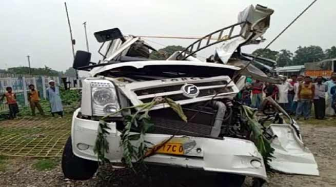 Assam: Five of a Wedding party Killed in road accident