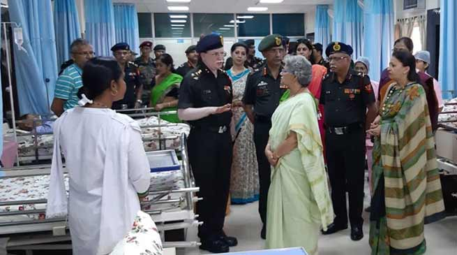 """Indian Army dedicates Palliative Care Centre """"SPARSH"""" to Armed Forces Personnel"""