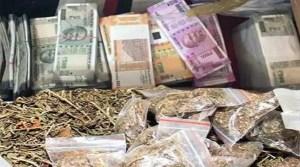 Assam: Cash, narcotic drugs seized in Hailakandi