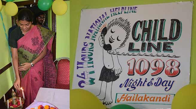 Assam: Childline 1098 service launched in Hailakandi