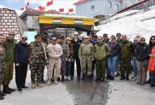 Photo of Sikkim: defence attachés visit Nathu La