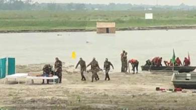 Assam: Army organises demo on flood relief and rescue operation