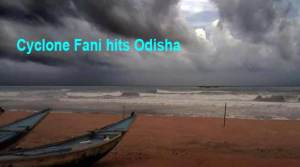 Cyclone Fani hits Odisha: a million evacuated