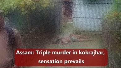 Photo of Assam: Triple murder in kokrajhar, sensation prevails